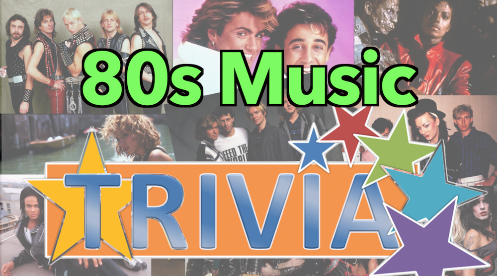 80s Music Trivia Quiz | In the 1980s