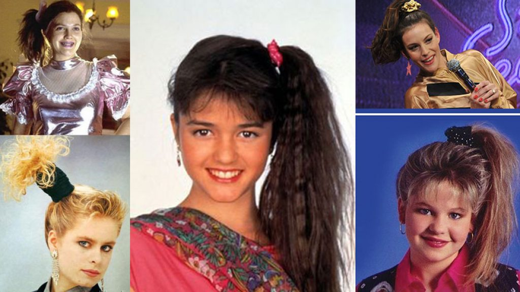 hairstyles of the 1980s