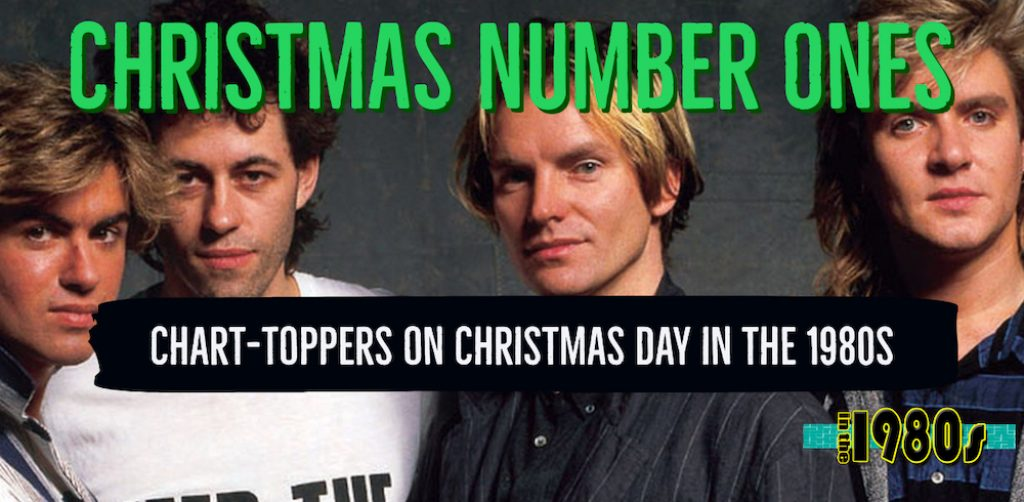 Do you remember these chart topping Christmas Number One songs from the 1980s?