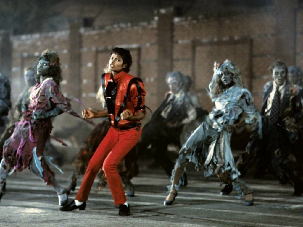 Michael Jackson wearing G.H. Bass & Co Weejuns Penny Loafers in the Thriller music video.