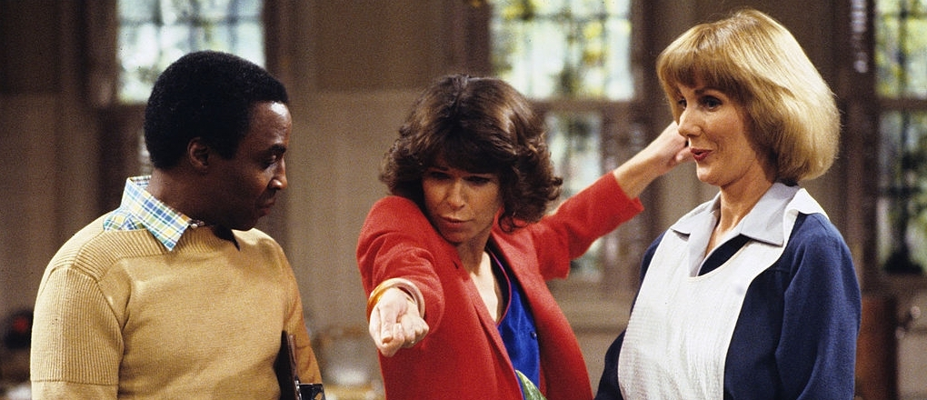Benson (Robert Guillaume) and Kraus (Inga Swenson)