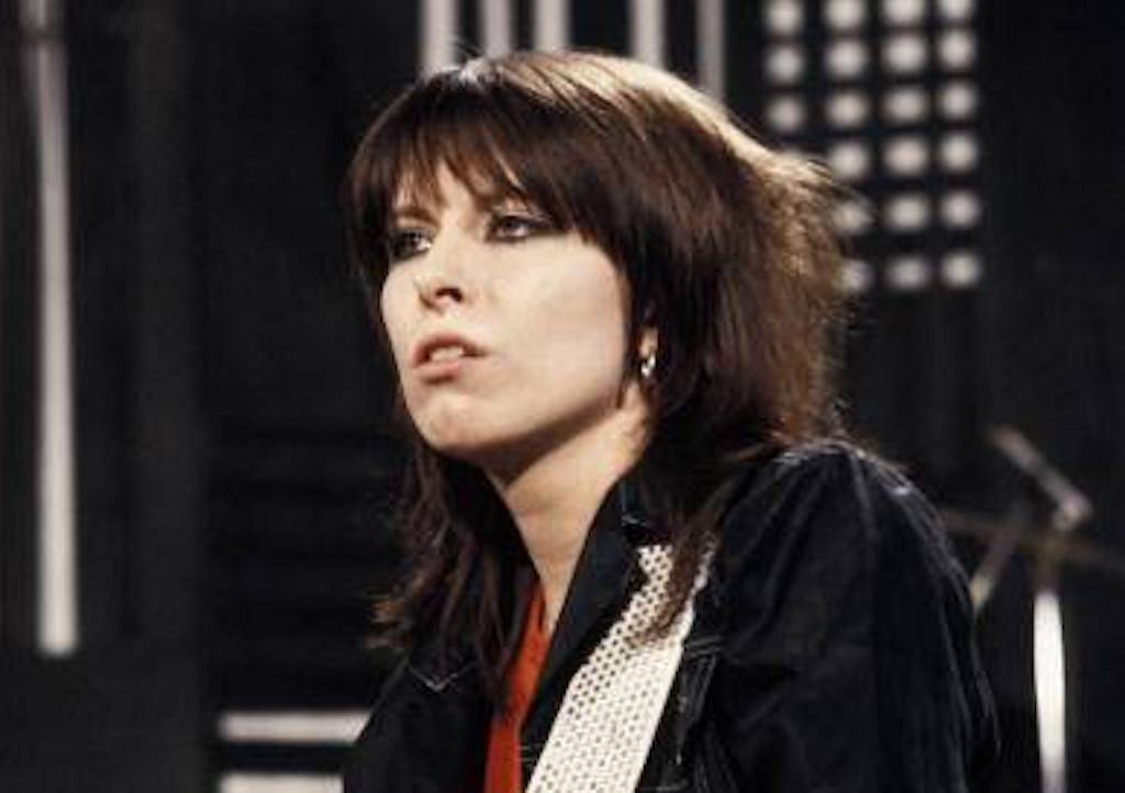 Chrissie Hynde of the Pretenders. Photo by Steve Morley/Redferns